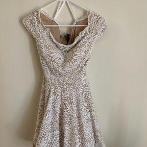 B. Darlin formal cream dress